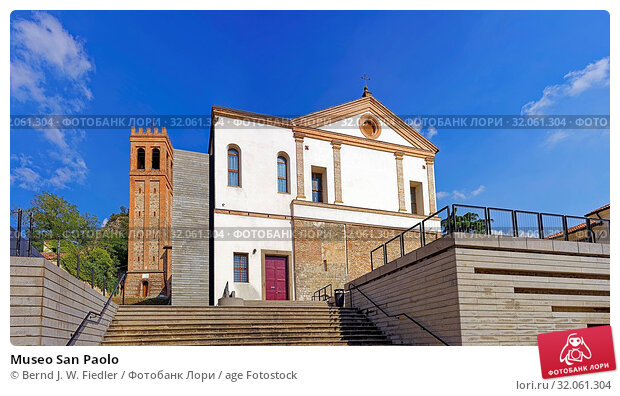 Museo San Paolo. Стоковое фото, фотограф Bernd J. W. Fiedler / age Fotostock / Фотобанк Лори