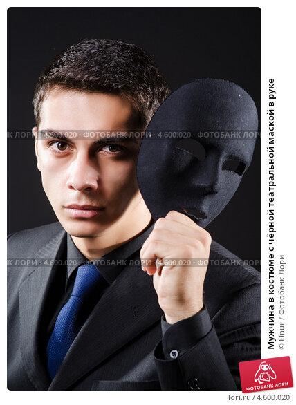 Мужчина в карнавальной маске занимается сексом с блондинкой