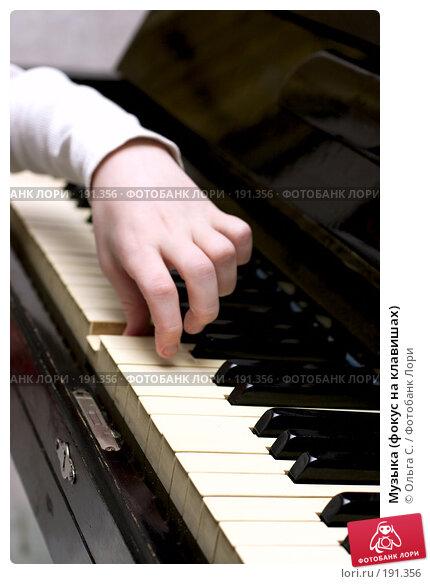Купить «Музыка (фокус на клавишах)», фото № 191356, снято 22 декабря 2006 г. (c) Ольга С. / Фотобанк Лори