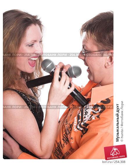 Купить «Музыкальный дуэт», фото № 254308, снято 5 августа 2007 г. (c) hunta / Фотобанк Лори