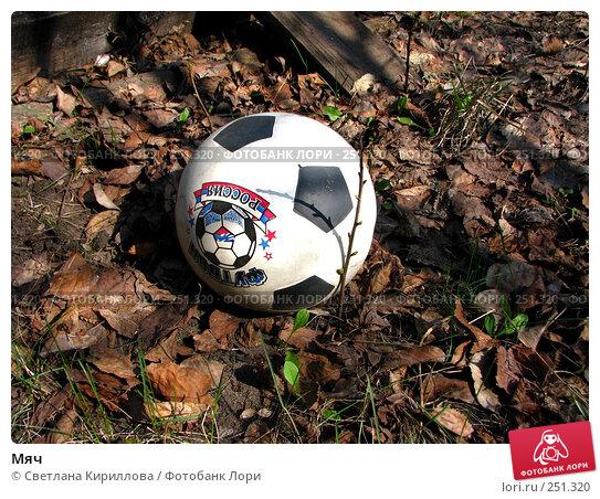 Мяч, фото № 251320, снято 13 апреля 2008 г. (c) Светлана Кириллова / Фотобанк Лори