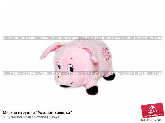 """Мягкая игрушка """"Розовая хрюшка"""", фото № 17908, снято 4 февраля 2007 г. (c) Лукьянов Иван / Фотобанк Лори"""