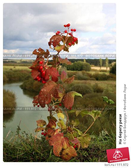 На берегу реки, фото № 111972, снято 7 октября 2007 г. (c) Сергей Бондарук / Фотобанк Лори