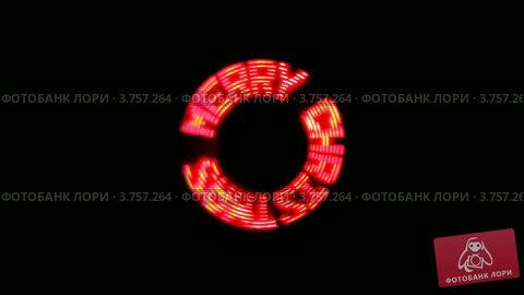 """Купить «На экране по кругу появляется надпись """"С Рождеством""""», видеоролик № 3757264, снято 22 сентября 2011 г. (c) Losevsky Pavel / Фотобанк Лори"""