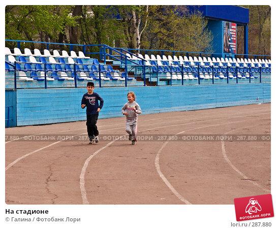 На стадионе, фото № 287880, снято 2 мая 2008 г. (c) Галина Щеглова / Фотобанк Лори