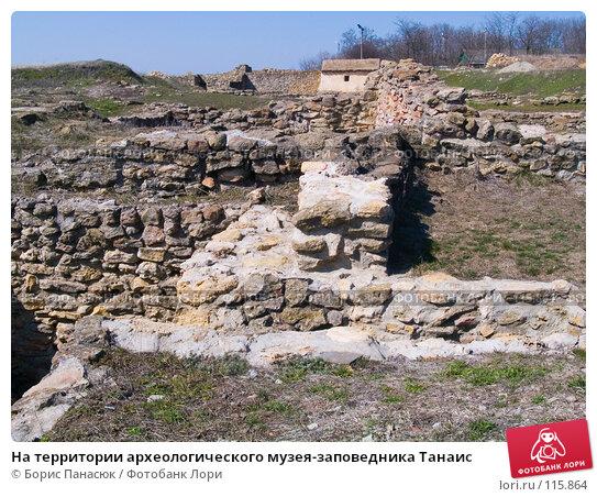 На территории археологического музея-заповедника Танаис, фото № 115864, снято 22 февраля 2007 г. (c) Борис Панасюк / Фотобанк Лори