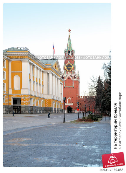 На территории Кремля, фото № 169088, снято 23 декабря 2007 г. (c) Parmenov Pavel / Фотобанк Лори