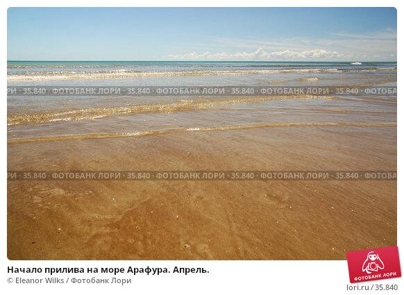 Купить «Начало прилива на море Арафура. Апрель.», фото № 35840, снято 13 мая 2007 г. (c) Eleanor Wilks / Фотобанк Лори
