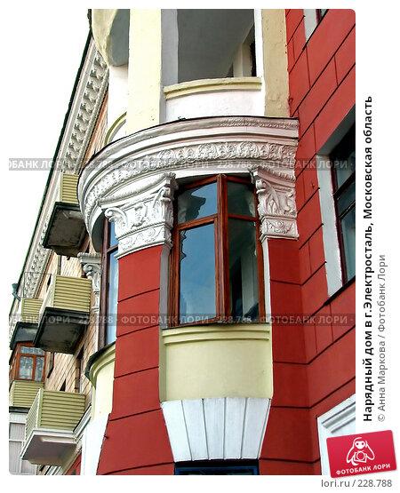 Нарядный дом в г.Электросталь, Московская область, фото № 228788, снято 29 октября 2007 г. (c) Анна Маркова / Фотобанк Лори
