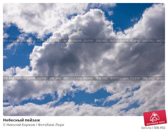 Небесный пейзаж, фото № 308992, снято 31 мая 2008 г. (c) Николай Коржов / Фотобанк Лори
