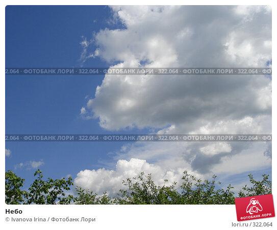 Небо, фото № 322064, снято 13 июня 2008 г. (c) Ivanova Irina / Фотобанк Лори