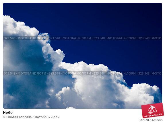 Купить «Небо», фото № 323548, снято 22 июля 2007 г. (c) Ольга Сапегина / Фотобанк Лори