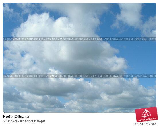 Купить «Небо. Облака», фото № 217964, снято 21 апреля 2018 г. (c) ElenArt / Фотобанк Лори