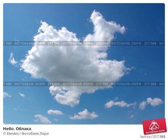 Небо. Облака, фото № 217988, снято 25 мая 2017 г. (c) ElenArt / Фотобанк Лори