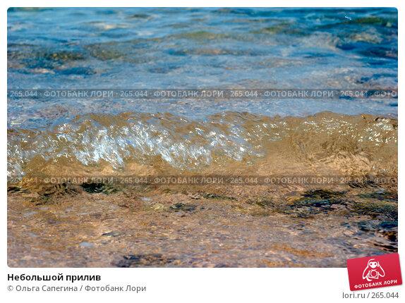 Небольшой прилив, фото № 265044, снято 11 октября 2007 г. (c) Ольга Сапегина / Фотобанк Лори