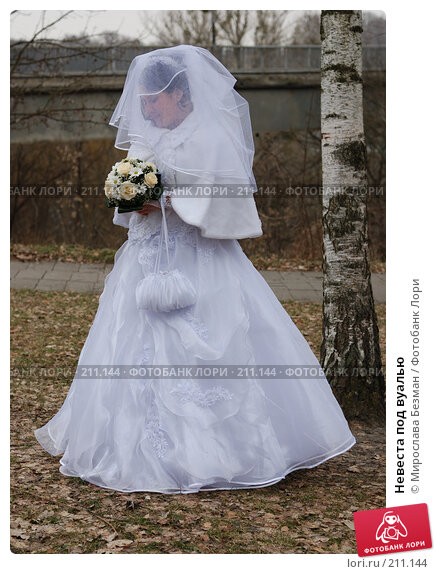 Невеста под вуалью, фото № 211144, снято 10 февраля 2008 г. (c) Мирослава Безман / Фотобанк Лори
