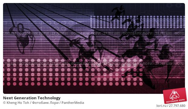 Купить «Next Generation Technology», фото № 27797680, снято 18 октября 2018 г. (c) PantherMedia / Фотобанк Лори