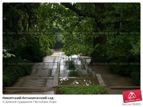Никитский ботанический сад, фото № 59872, снято 4 июня 2007 г. (c) Алексей Судариков / Фотобанк Лори