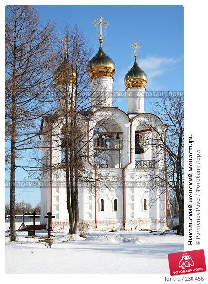 Купить «Никольский женский монастырь», фото № 230456, снято 24 февраля 2008 г. (c) Parmenov Pavel / Фотобанк Лори