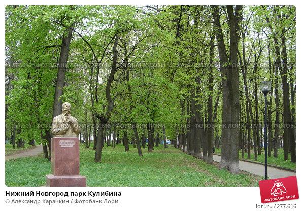 Нижний Новгород парк Кулибина, фото № 277616, снято 26 марта 2017 г. (c) Александр Карачкин / Фотобанк Лори