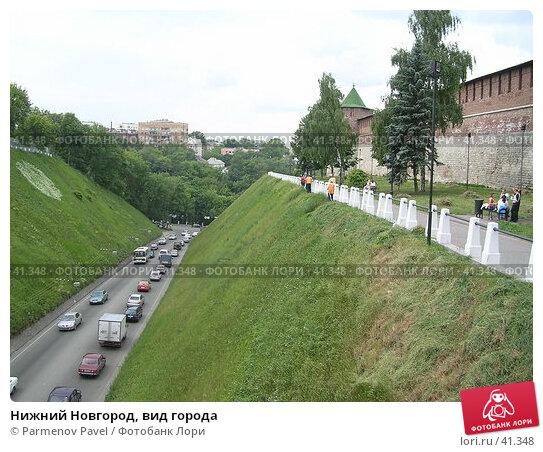 Нижний Новгород, вид города, фото № 41348, снято 15 июня 2005 г. (c) Parmenov Pavel / Фотобанк Лори