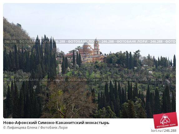 Ново-Афонский Симоно-Кананитский монастырь, фото № 246288, снято 22 марта 2008 г. (c) Лифанцева Елена / Фотобанк Лори