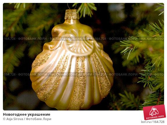 Новогоднее украшение, фото № 164728, снято 25 декабря 2007 г. (c) Asja Sirova / Фотобанк Лори