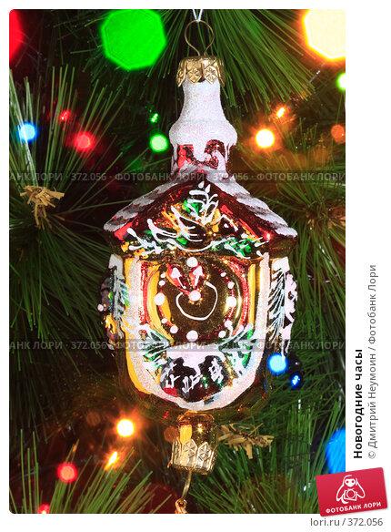 Купить «Новогодние часы», эксклюзивное фото № 372056, снято 3 июля 2008 г. (c) Дмитрий Неумоин / Фотобанк Лори