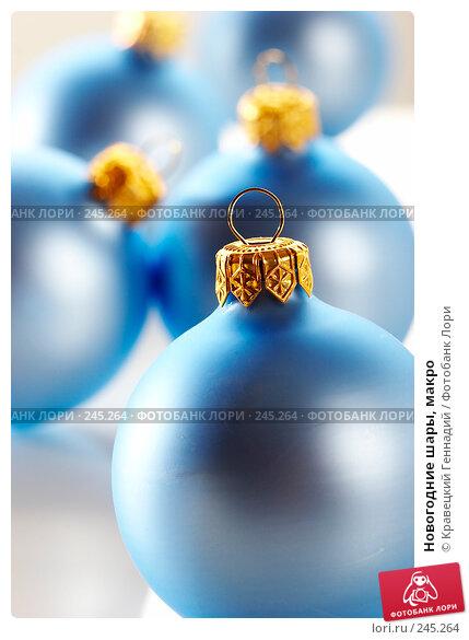 Новогодние шары, макро, фото № 245264, снято 13 декабря 2005 г. (c) Кравецкий Геннадий / Фотобанк Лори