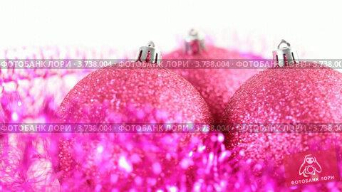 Купить «Новогодние украшения», видеоролик № 3738004, снято 17 июля 2011 г. (c) Losevsky Pavel / Фотобанк Лори
