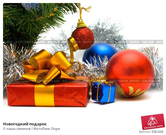 Купить «Новогодний подарок», фото № 326028, снято 4 июня 2008 г. (c) паша семенов / Фотобанк Лори