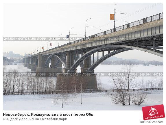 Новосибирск, Коммунальный мост через Обь, фото № 246504, снято 18 января 2007 г. (c) Андрей Доронченко / Фотобанк Лори