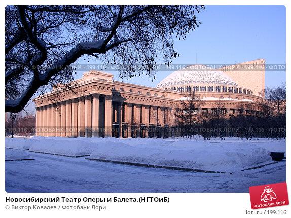 Новосибирский Театр Оперы и Балета.(НГТОиБ), фото № 199116, снято 27 января 2008 г. (c) Виктор Ковалев / Фотобанк Лори