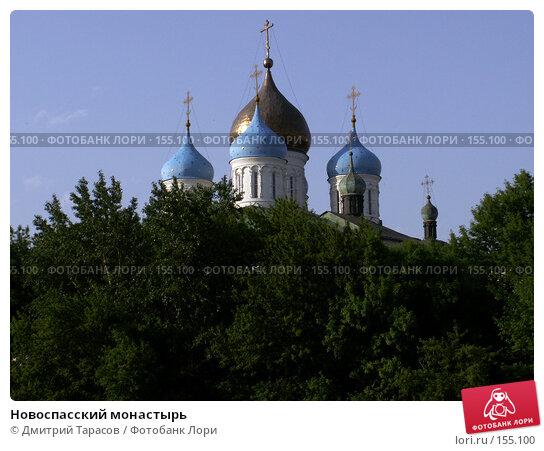 Купить «Новоспасский монастырь», фото № 155100, снято 4 июня 2006 г. (c) Дмитрий Тарасов / Фотобанк Лори