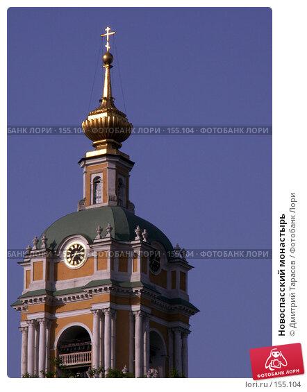 Купить «Новоспасский монастырь», фото № 155104, снято 4 июня 2006 г. (c) Дмитрий Тарасов / Фотобанк Лори