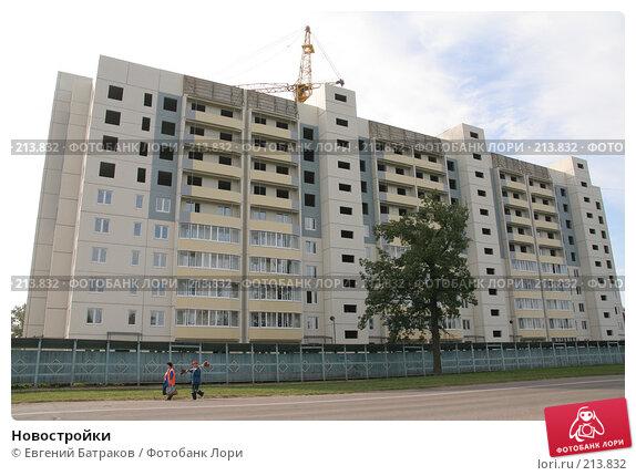 Новостройки, фото № 213832, снято 20 августа 2007 г. (c) Евгений Батраков / Фотобанк Лори