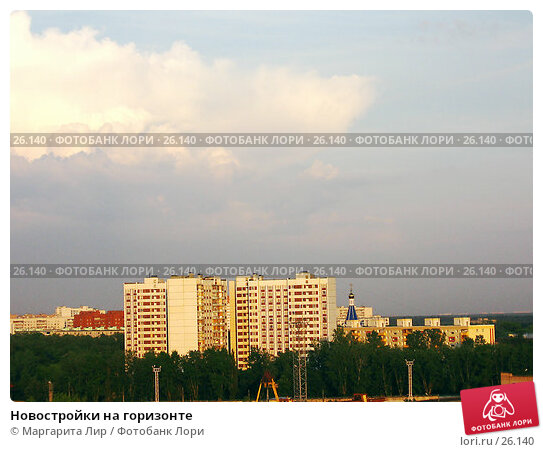 Новостройки на горизонте, фото № 26140, снято 21 июня 2006 г. (c) Маргарита Лир / Фотобанк Лори