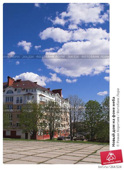 Новый дом на фоне неба, фото № 264524, снято 26 апреля 2008 г. (c) Роман Коротаев / Фотобанк Лори