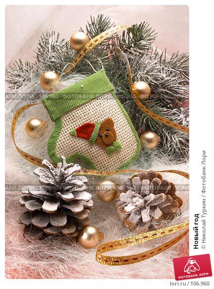 Новый год. Стоковое фото, фотограф Николай Туркин / Фотобанк Лори