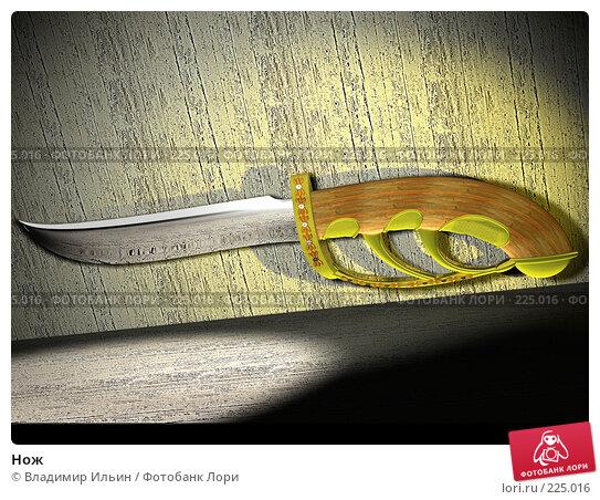 Купить «Нож», иллюстрация № 225016 (c) Владимир Ильин / Фотобанк Лори