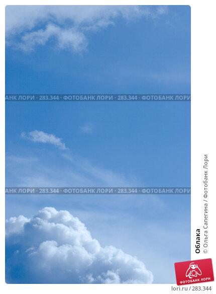 Облака, фото № 283344, снято 28 марта 2008 г. (c) Ольга Сапегина / Фотобанк Лори