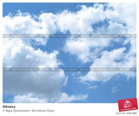 Облака, фото № 335880, снято 1 мая 2017 г. (c) Вера Тропынина / Фотобанк Лори