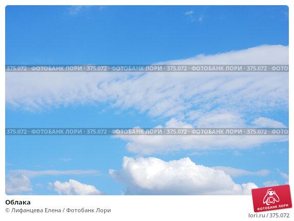 Купить «Облака», фото № 375072, снято 25 июля 2008 г. (c) Лифанцева Елена / Фотобанк Лори