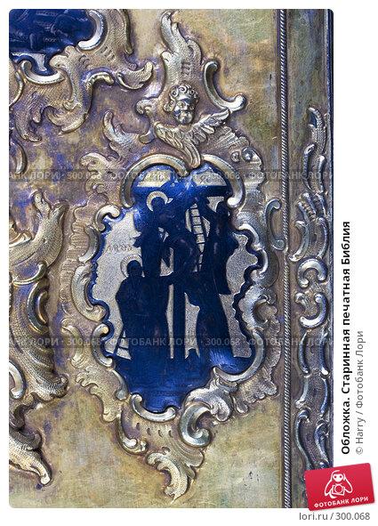 Обложка. Старинная печатная Библия, фото № 300068, снято 17 апреля 2008 г. (c) Harry / Фотобанк Лори
