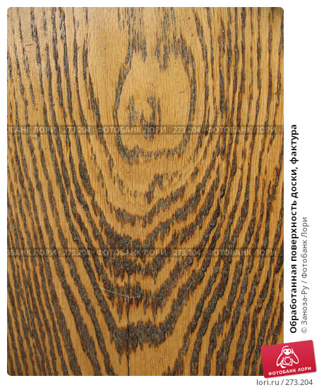 Купить «Обработанная поверхность доски, фактура», фото № 273204, снято 1 мая 2008 г. (c) Заноза-Ру / Фотобанк Лори