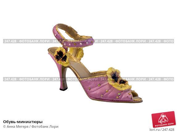 Обувь-миниатюры, фото № 247428, снято 4 марта 2008 г. (c) Анна Мегеря / Фотобанк Лори