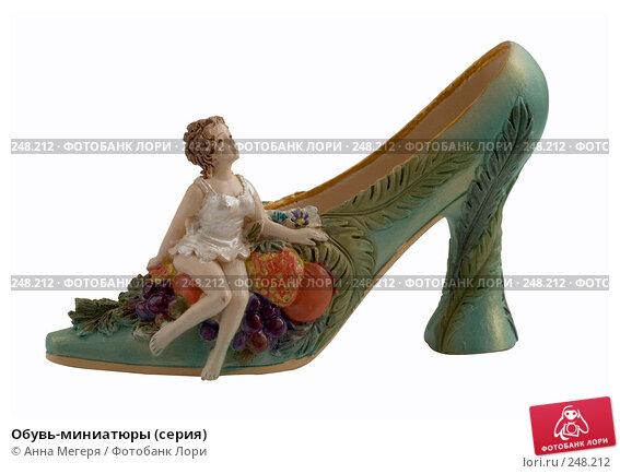 Купить «Обувь-миниатюры (серия)», фото № 248212, снято 12 марта 2008 г. (c) Анна Мегеря / Фотобанк Лори