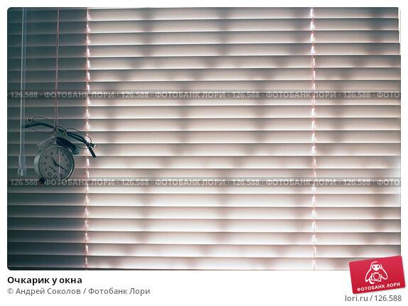 Очкарик у окна, фото № 126588, снято 27 октября 2016 г. (c) Андрей Соколов / Фотобанк Лори