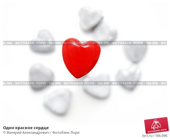 Одно красное сердце, фото № 166096, снято 20 января 2017 г. (c) Валерий Александрович / Фотобанк Лори
