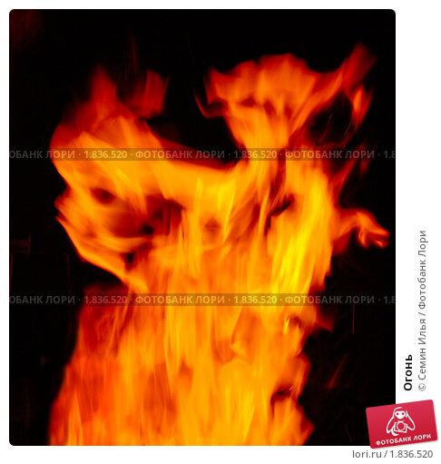 Огонь. Стоковое фото, фотограф Семин Илья / Фотобанк Лори